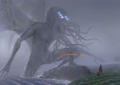 Howard Phillips Lovecraft 2 by Theocrata