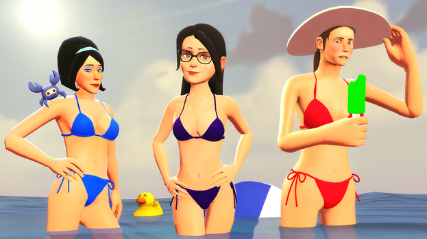 Well mercenaries, ready for summer? by DarknessRingoGallery