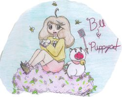 Bee and Puppycat!!! by demonboy-093