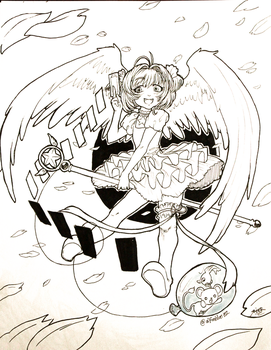 Day 26 - Sakura Card Captor by Afroblue72
