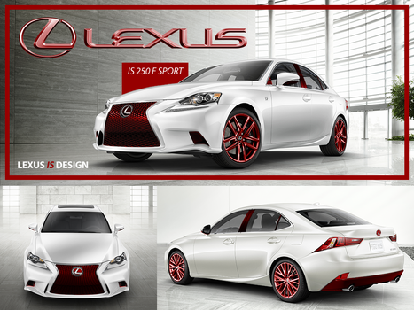 Lexus is Color by WilliamRushing