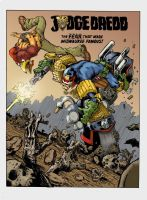 Dredd -The Fear... by GibsonQuarter27