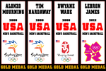 Miami Heat Olympians by FJOJR