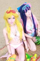 Panty and Stocking Cosplay by sosochan1314
