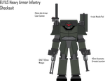 IRS ELYAS Heavy Armor Infantry Shocksuit by Target21