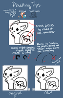 Pixel tips for Magicpawed by Kuitsumi