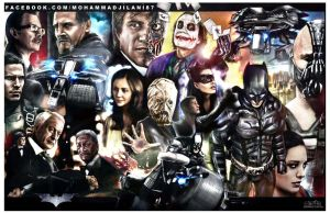 The Dark Knight Legacy by vicariou5