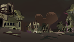Ponyville Wasteland (fallout Equestria) by Vector-Brony