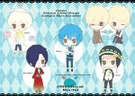 Dmmd Sticker Chibi Sheet by tsunyandere