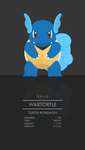 Wartortle by WEAPONIX