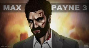 Max Payne 3 poster by keyholestyle
