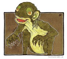 Gollum by focusfixated