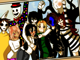 .:Group picture:. by janethewolf12