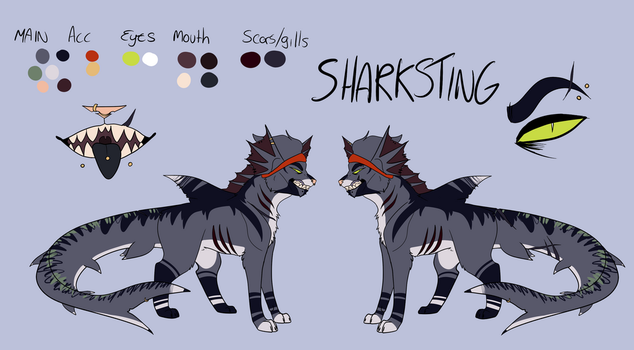New Shade Ref by UnravelGh0ul