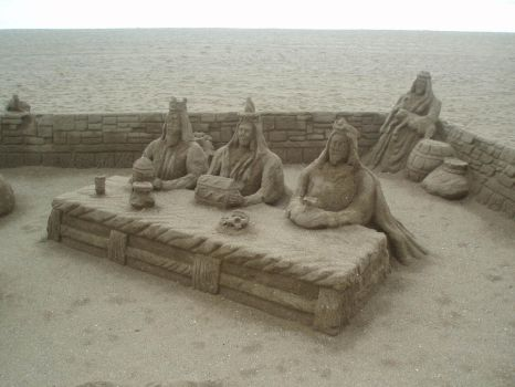 Amazing things made of sand 1 by Magrat90