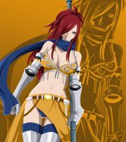 Erza KnightWalker by pablofcb