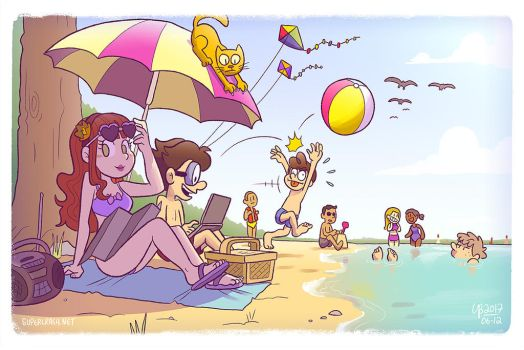School's out for summer by TheBourgyman