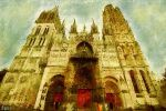 Rouen Cathedral by fmr0