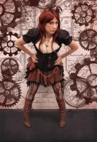 SteamPunk Captain by Annechan-Mana-