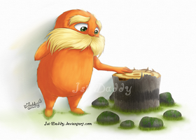 Lorax - Which way does a tree fall? by Isi-Daddy
