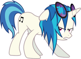 Vinyl Scratch Attack by SDC2012
