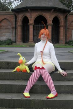 Ahiru or Duck Cosplay by KyoukaKami