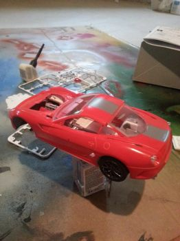 Ferrari 599 GTO Body on Chassis by HeroOfTime05