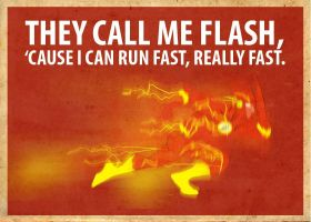Flash Poster Variation 2 by Procastinating