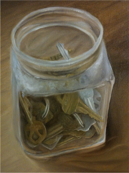 Jar of Keys by Curlzgirl