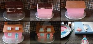Candy Crush Cake Stages by ginas-cakes