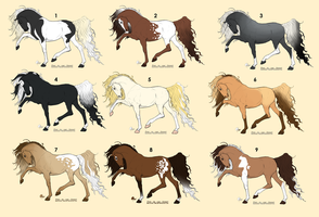 Horse Adopts {3/9 CLOSED} by Kaivris-Adopts