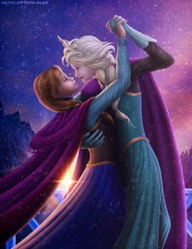 Frozen - 'Sunset Waltz' by OrbitalWings