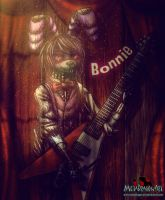 Bonnie the Musician by MetaDragonArt