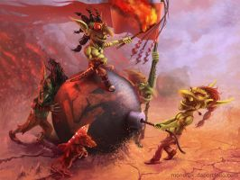 Goblins Saboteurs by monorok