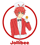 Jollibee (The Fast Food Family) by pastelaine-art