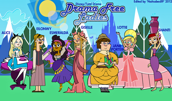 DRAMA FREE LADIES by Naitsabes89