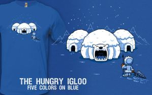 The Hungry Igloo by InfinityWave