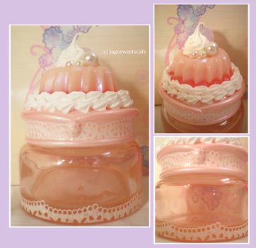 Charming Jelly Jar by JagoSweetsCafe