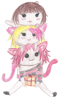 Stacked cuteness :: Gift by MsSharra