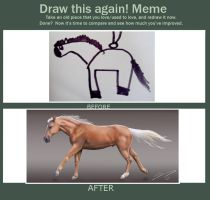 Draw this again meme by Nazegoreng