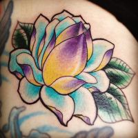 Japanese lotus flower by jerrrroen