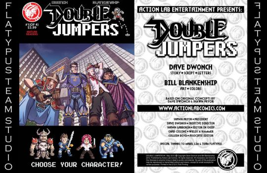 Double Jumpers issue #1 by Wynrex04