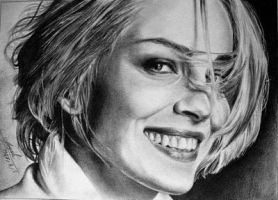 Sharon Stone by Maggy-P