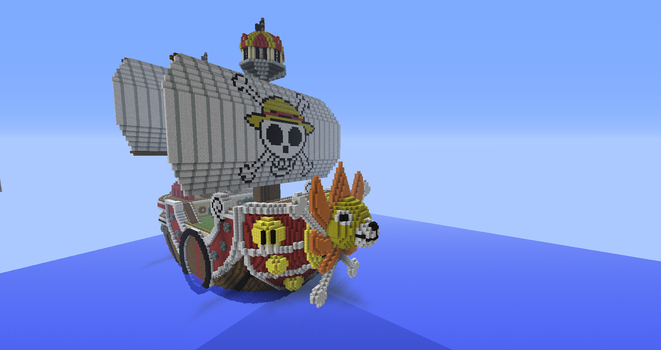 New One Piece Minecraft Project - Part 3 by Kimdrello