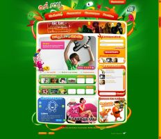 web design tictac mexico by diego64