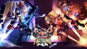 League of legends - Redbull Factions by CKibe