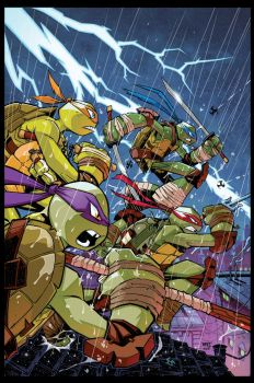 TMNT Amazing Adventures 2 COVER by Red-J