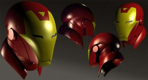 Iron Man's Head by guisadong-gulay