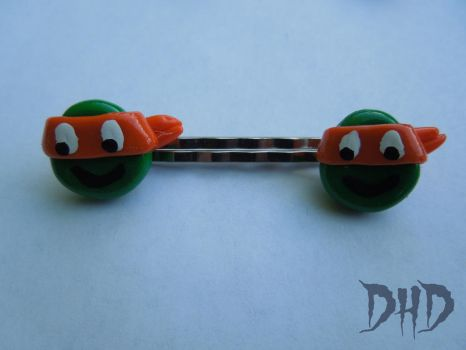 Michelangelo Bobby Pins by 3Alice3