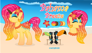 Reference Sheet: Bahama Breeze by MyPaintedMelody
